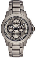 Michael Kors Ryker Titanium Three-Link Bracelet Chronograph Watch
