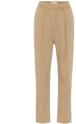 MATÉRIEL High-rise wool-blend pants