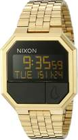 Nixon Men's A158502 Re-Run Digital Custom Multi-function Digital Module Gold Watch