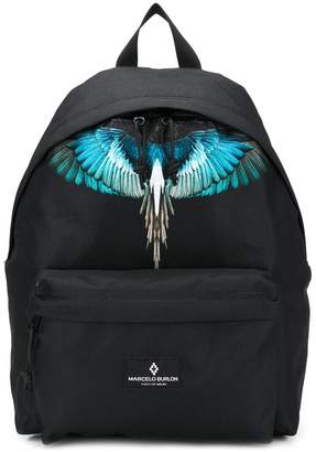 Marcelo Burlon County of Milan Kids TEEN wings-print backpack