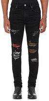 AMIRI Men's Art Patch Slim Jeans