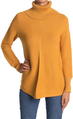 Cyrus Ottoman Rib Knit Turtleneck Sweater