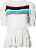 Thomas Wylde Audrey top - women - Silk/Cotton/Spandex/Elastane/Viscose - S