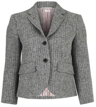 Thom Browne Striped tweed jacket