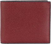 Valextra classic billfold wallet - men - Leather - One Size
