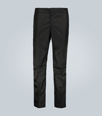 Prada Technical casual pants with logo