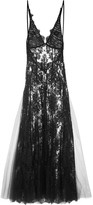 I.D. Sarrieri Fatal Attraction Chantilly Lace Nightdress - Black