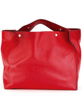 Marni voile shopping tote bag - women - Leather - One Size
