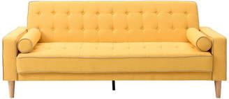 Glory Furniture Navi Sleeper Sofa, Yellow Fabric