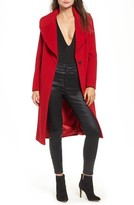 KENDALL + KYLIE Women's Wool Blend Coat