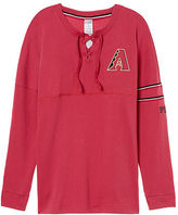 PINK Arizona Diamondbacks Bling Lace-up Varsity Crew