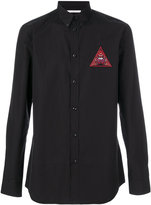 Givenchy Realize embroidered shirt - men - Cotton/Polyester - 39