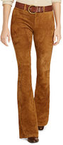 Polo Ralph Lauren Stretch Suede Flared Pant