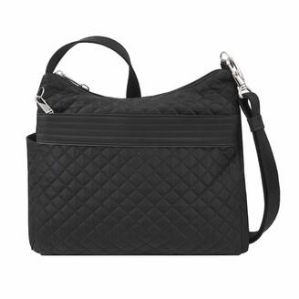 Travelon Anti-Theft Boho Square Crossbody Bag - Black