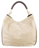 Saint Laurent Leather Trimmed Roady Bag