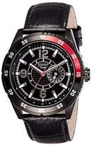 Esprit Men's Watch XL Analogue Rubber Quartz Varsity ES104131003 Red
