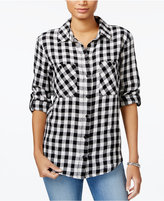 Sanctuary The Steady Checkered Boyfriend Shirt