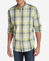 Eddie Bauer Men's On The Go Poplin Shirt