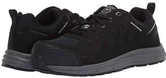Skechers Malad Comp Toe (Black) Men's Shoes