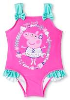 Peppa Pig Toddler Girls' One Piece Suit-Pink