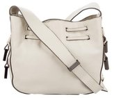 Halston Leather Crossbody Bag