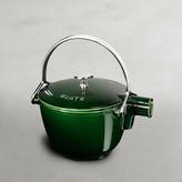 Staub Cast-Iron Round Tea Kettle