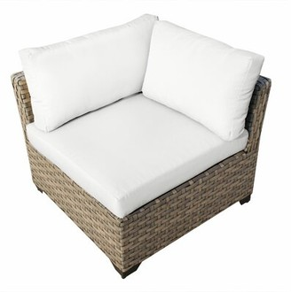 Rochford Sol 72 Outdoor Patio Chair with Cushions Sol 72 Outdoor Cushion Color: White
