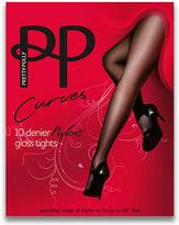 Pretty Polly Curves Gloss Pantyhose Plus Size