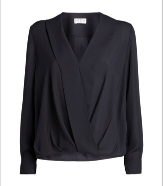 Claudie Pierlot Wrap-Around Blouse