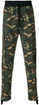 Palm Angels camouflage utility pants