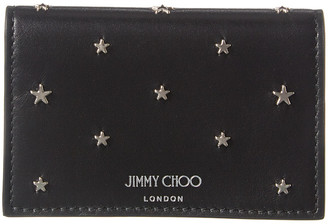 Jimmy Choo Nello Leather Continental Wallet