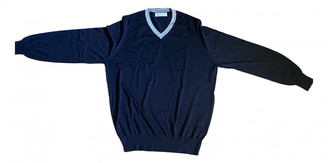 Brunello Cucinelli Blue Cashmere Knitwear & Sweatshirts