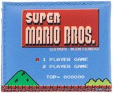 Bioworld Nintendo Super Mario Level Sublimated Bi-Fold Wallet