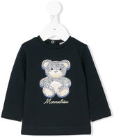 MonnaLisa embellished teddy bear blouse - kids - Cotton/Spandex/Elastane - 3 mth