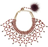 ROSANTICA BY MICHELA PANERO Rete bead-embellished necklace