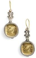 Konstantino Women's 'Athena Owl' Drop Earrings