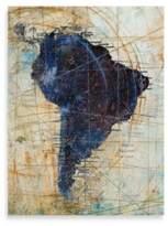 "Bed Bath & Beyond Starlie Sokol-Hohne, ""The Newer World 6,"" Canvas Art"