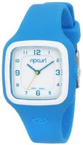 Rip Curl Women's A2550G-BLU Square Sport Watch with Silicone Coating
