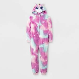 Cat & Jack Girls' Unicorn Union Suit - Cat & JackTM Pink