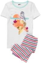 Crazy 8 Mermaid 2-Piece Shortie Pajama Set