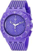 Swatch Men's SUIV401 Run Multi-Color Strap Watch