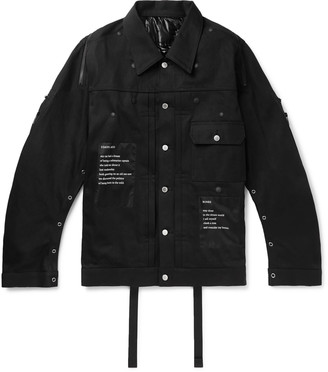 TAKAHIROMIYASHITA TheSoloist. Printed Denim Jacket - Men - Black