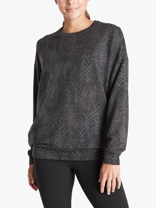 Athleta Studio To Street Sweatshirt, Grey