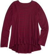 Arizona Long-Sleeve Seamed Tunic - Girls Plus