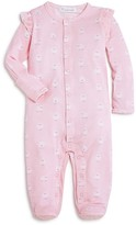 Angel Dear Infant Girls' Sheep Print Footie - Sizes 0-12 Months