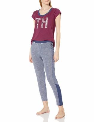 Tommy Hilfiger Women's Top and Pant Pajama Set Pj