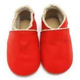 Sayoyo Soft Sole Leather First Walking Baby Shoes Toddler Moccasins(24-36 months,)