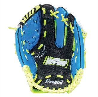 "Franklin Sports 9"" Neo Grip Blue Glove & Ball Set"