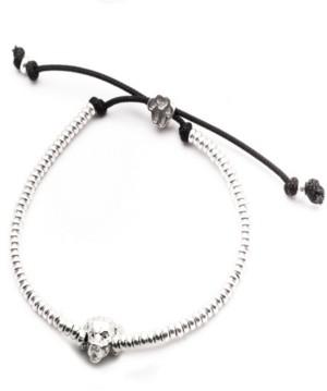 Dog Fever Golden Retriever Head Bracelet in Sterling Silver