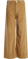 Masscob High-rise wide-leg corduroy trousers